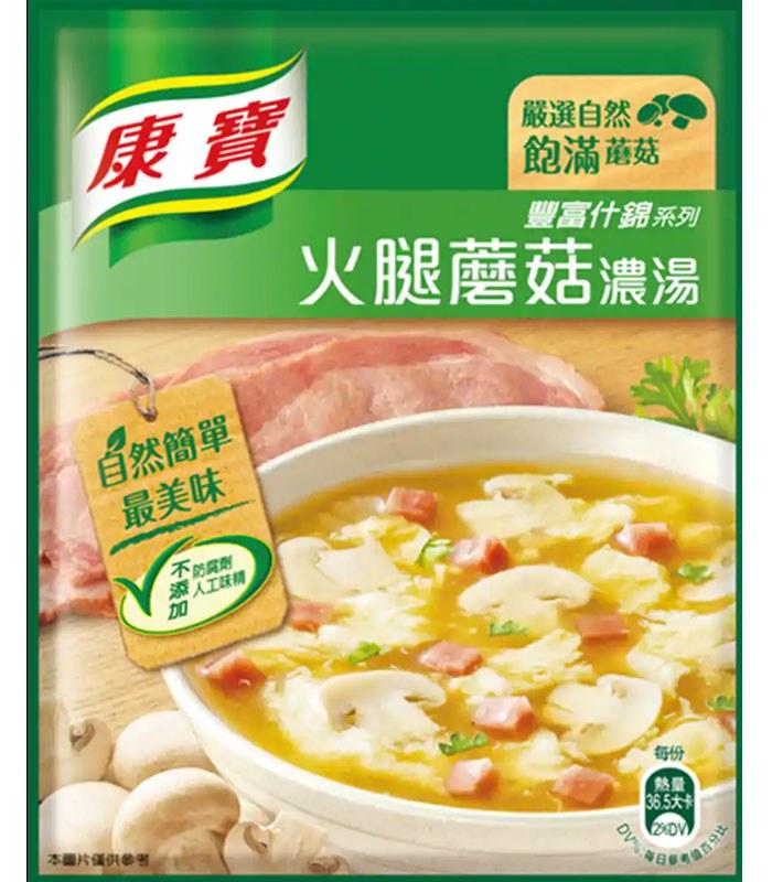 knorr 康寶 - 新火腿磨菇濃湯(2入)  - 1組