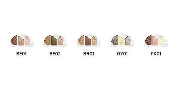 SHISEIDO Benefique 資生堂碧麗妃 - 恬蜜花漾極光珍珠眼影 (蕊+盒) - 4g