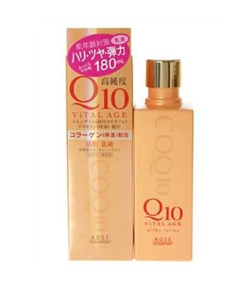 KOSE COSMEPORT 高絲開架 - Q10酵素緊緻活膚凝乳  - 180ml