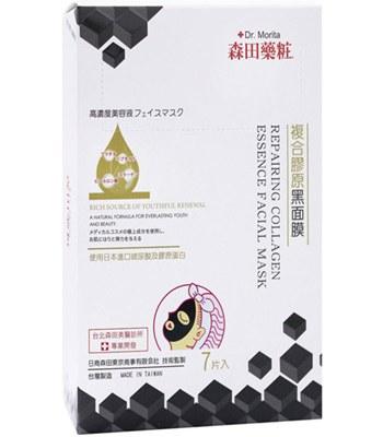 DR. JOU 森田藥粧 - 複合膠原黑面膜  - 7入