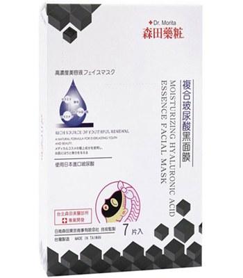 DR. JOU - 複合玻尿酸黑面膜-7入