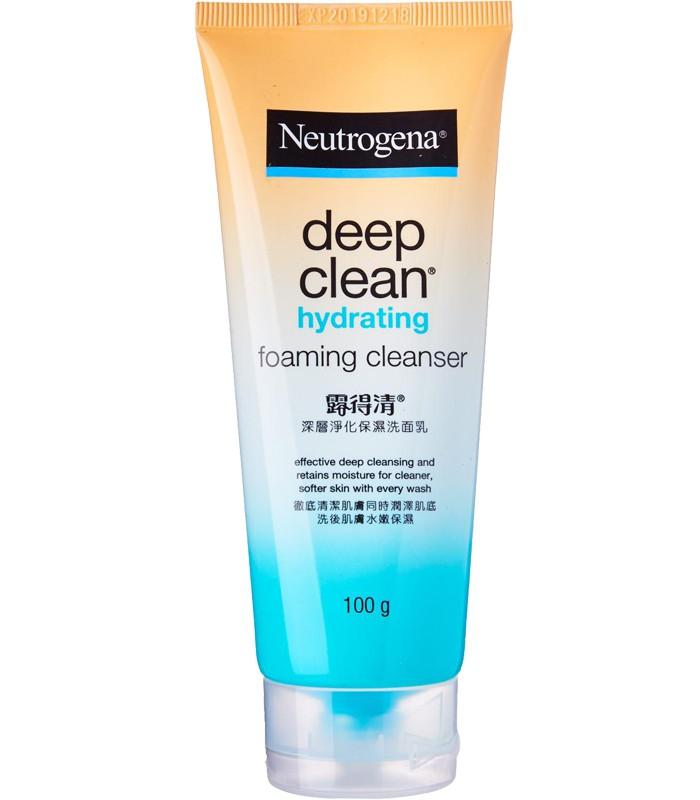 Neutrogena 露得清 - 深層淨化保濕洗面乳  - 100g