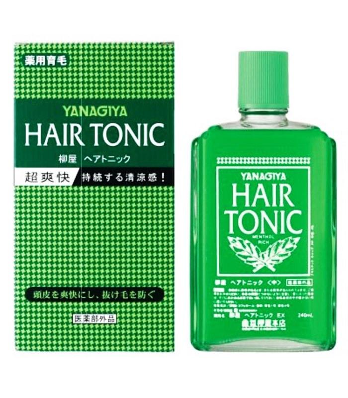 YANAGIYA 柳屋 - 髮根營養液 (綠瓶) - 240ml