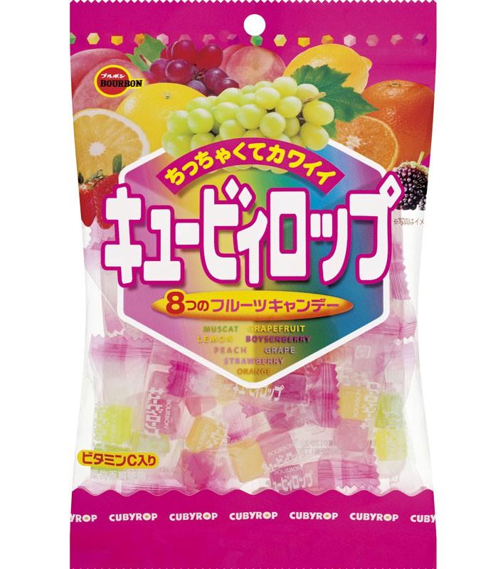 Bourbon 北日本 - 8種水果糖  - 112g