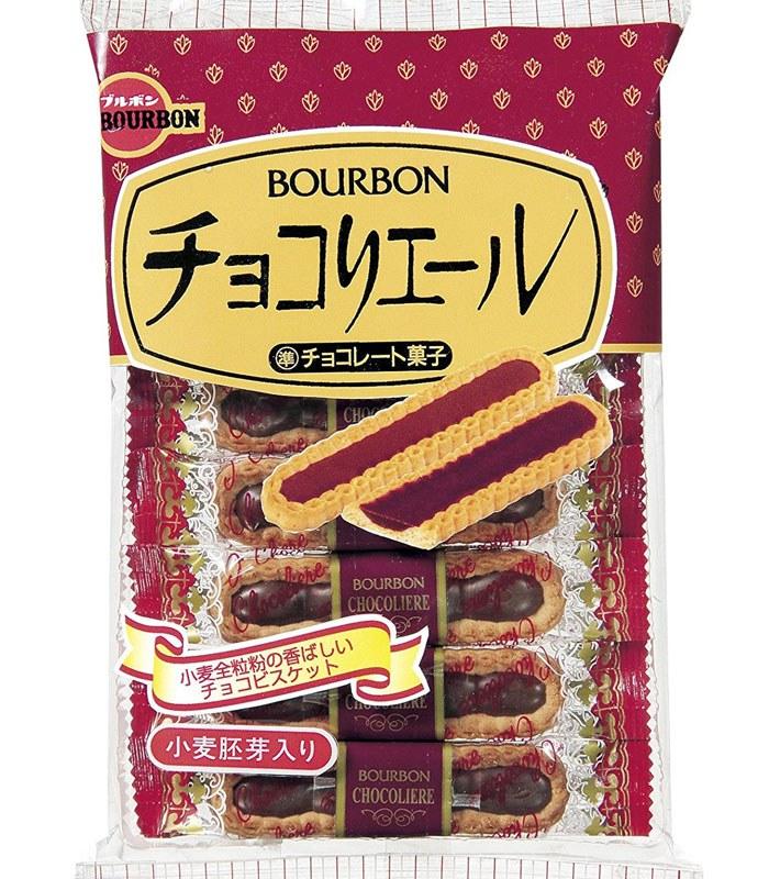 Bourbon 北日本 - 巧克力小麥胚芽餅乾  - 110.6g