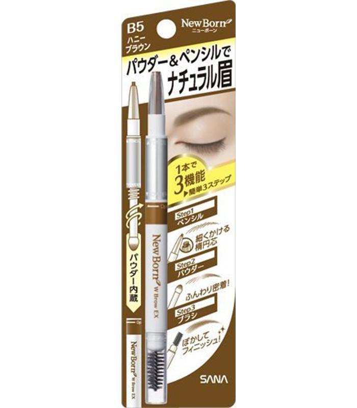 SANA 莎娜 - 柔和三用眉彩筆 - 20g