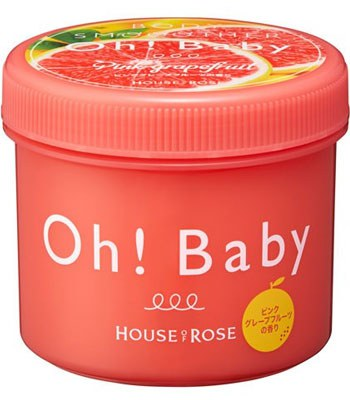 House Of Rose - Oh Baby 去角質美體霜-西柚-350g