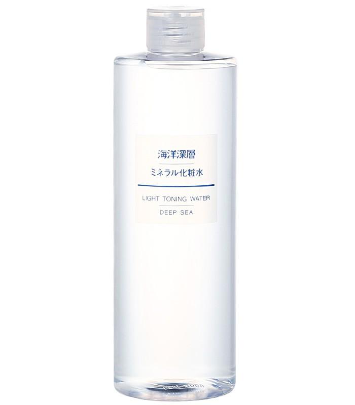 MUJI 無印良品 - 海洋深層礦泉化妝水(大)  - 400ml