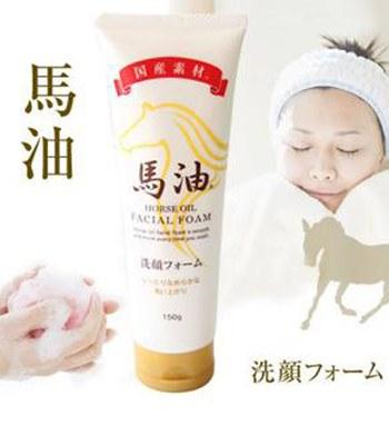 日本馬油相關商品 - 馬油洗面乳  - 150g