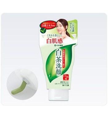 ROHTO - 白肌感白茶潔顏乳-120g