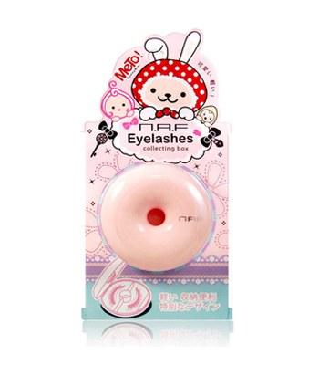 N.A.F - METO甜甜圈假睫毛收納盒(顏色隨機出貨)-1個