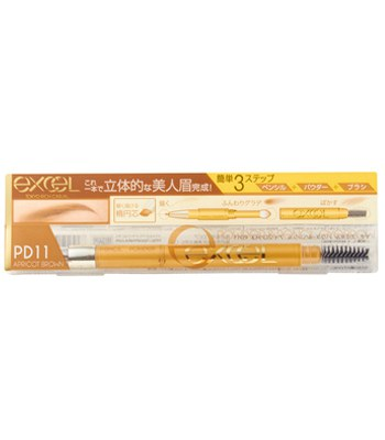 EXCEL - 3合1持久造型眉筆 - 13g