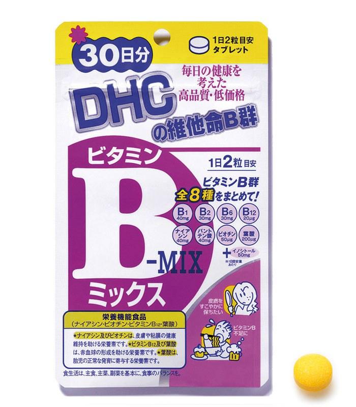 DHC - 維他命B群 -60粒 - 30日份(60粒)