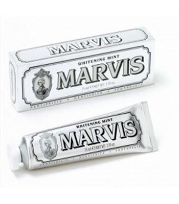 Marvis - 亮白薄荷牙膏(大銀)-75ml