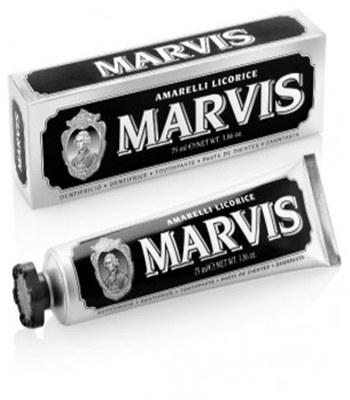 Marvis - 甘草薄荷牙膏(黑)-25ml