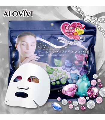 ALOVIVI - All-in-one水面膜