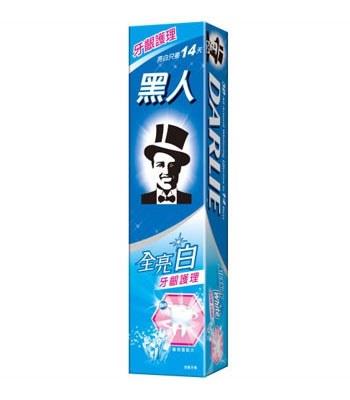 黑人牙膏 - 全亮白牙膏 - 140g
