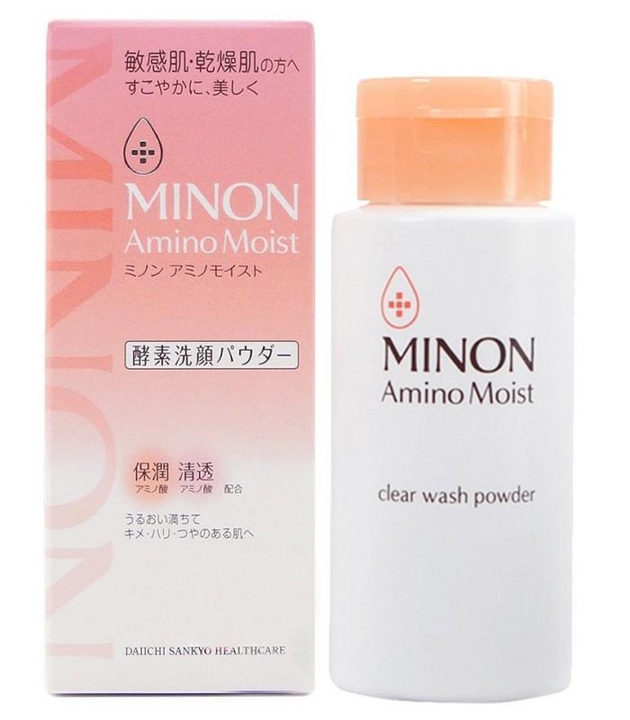 MINON - 敏弱潤澤酵素洗顏粉  - 35g