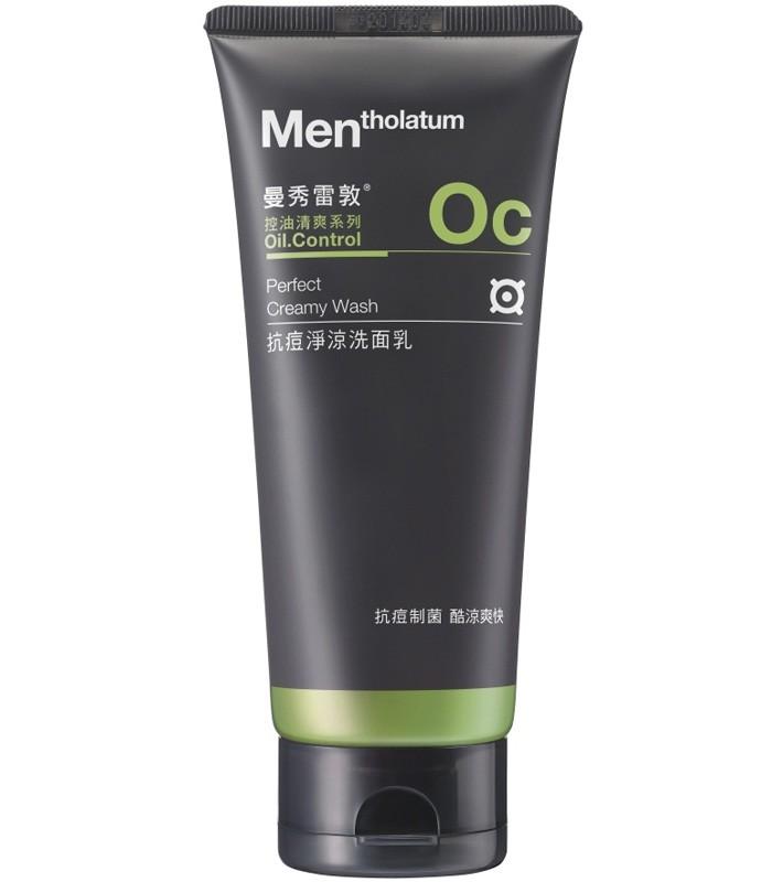 MENTHOLATUM 曼秀雷敦 - 男士抗痘淨涼洗面乳  - 100g