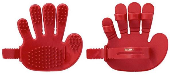 KAI 貝印 - 頭皮按摩刷(紅)  - 1入