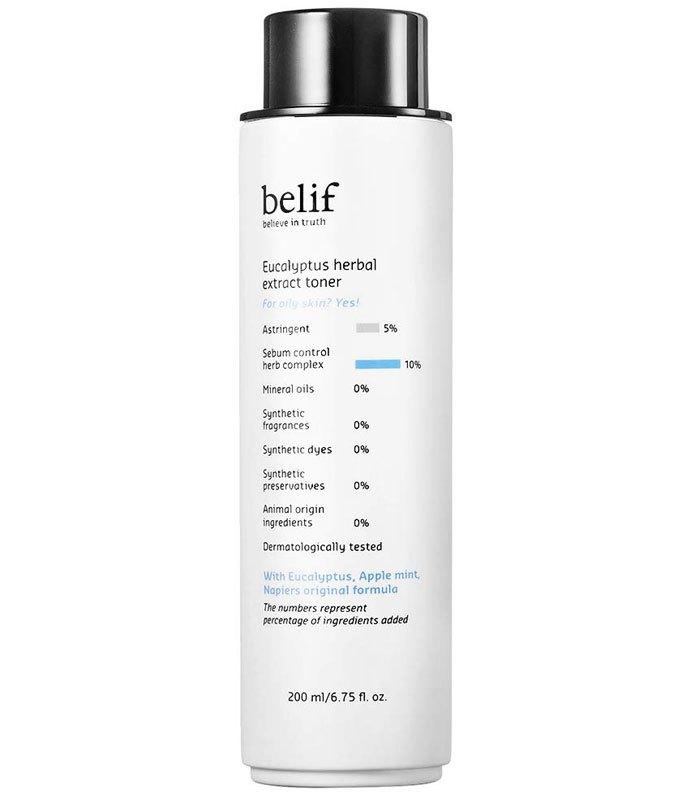 belif - 尤加利清爽控油化妝水  - 200ml