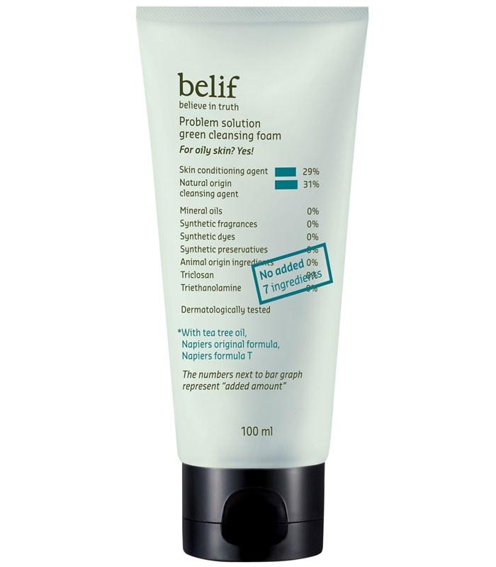 belif - 茶樹淨膚洗面乳  - 100ml