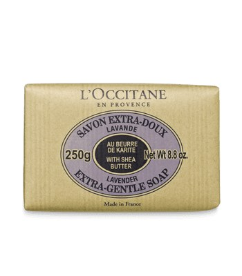 L'OCCITANE 歐舒丹 - 乳油木薰衣草皂  - 250 g
