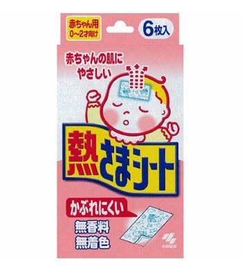 Kobayashi - 小林退熱貼嬰兒用-6枚入