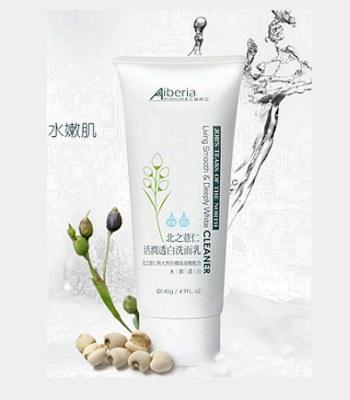Aiberia - 北之薏仁活潤透白洗面乳-140ml