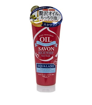 ROLAND - OIL SAVON角鯊烷精華彈力洗面乳-150g