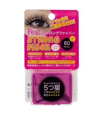 ROLAND - Strong fiber 360度深邃隱形雙眼皮膠條-寬面單條型-72入