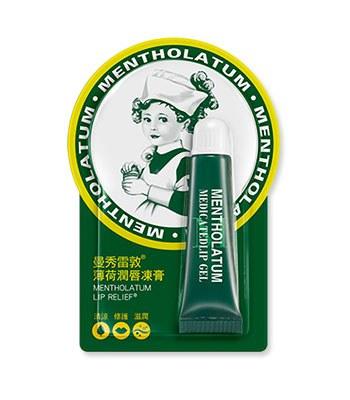 MENTHOLATUM  - 薄荷潤唇凍膏-8g