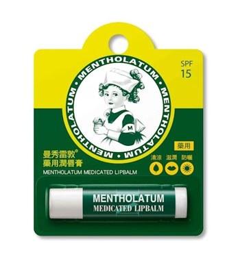 MENTHOLATUM  - 藥用潤唇膏-3.5g