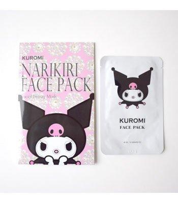 CHARACON - 日本限定Kuromi造型面膜-珍珠-2片