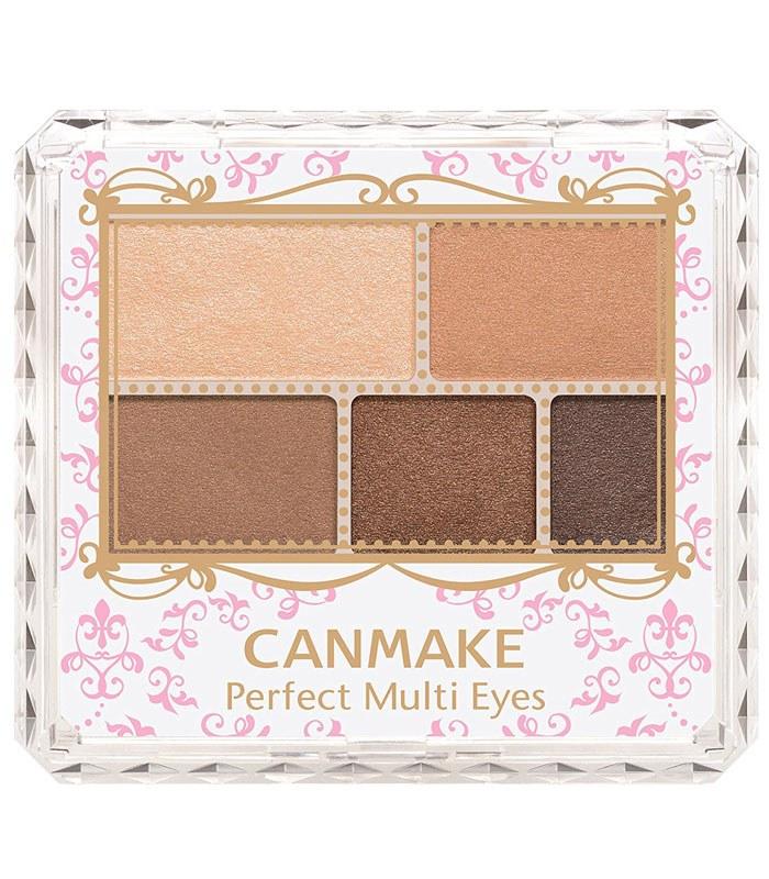 CANMAKE - 完美霧面眉影盤 -502-02 - 1入