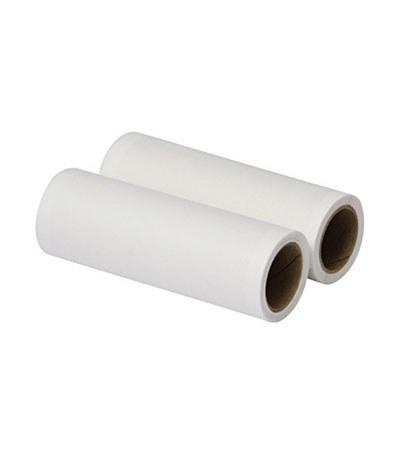 MUJI - 攜帶型衣物用清潔滾輪補充紙-2入  / 7.5cm
