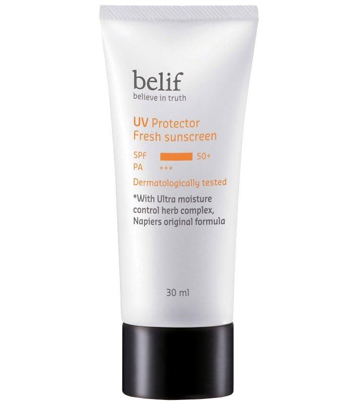 belif - 野麻嬰全效輕透防曬乳  - 30ml
