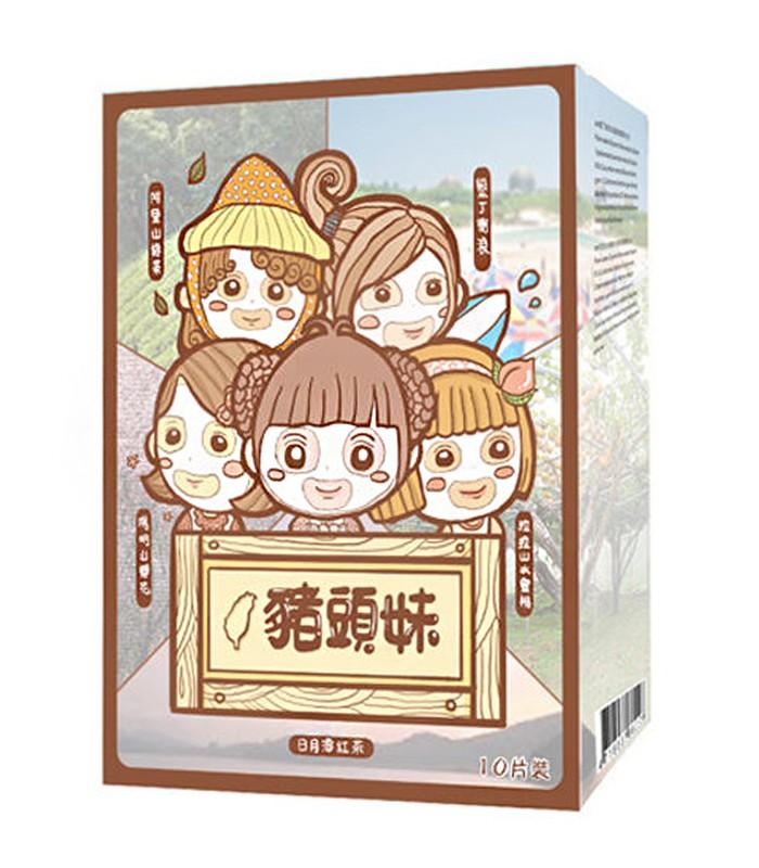 AM 豬頭妹 - AM 豬頭妹 台灣系列面膜(盒裝)  - 10片