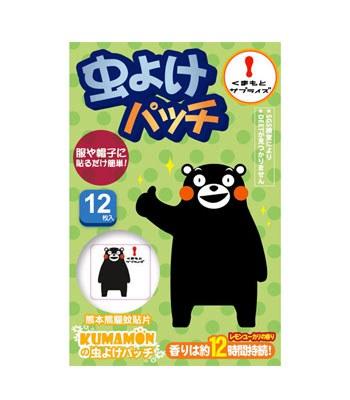 MYHUO LifeStyle - 熊本熊 驅蚊貼片-12入/盒