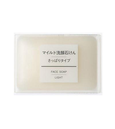 MUJI 無印良品 - 溫和洗面皂(清爽型)  - 75g