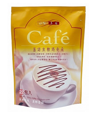 GINO 基諾 - 焦糖瑪奇朵咖啡隨身包  - 24公克X22包
