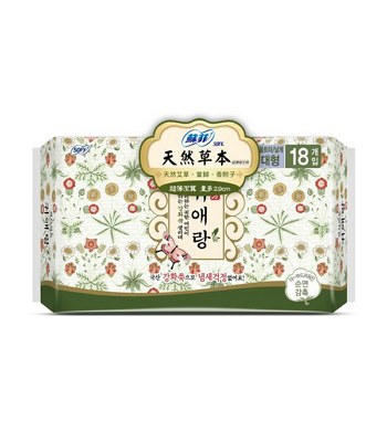 SOFY 蘇菲 - 天然草本衛生棉 - 18片/包