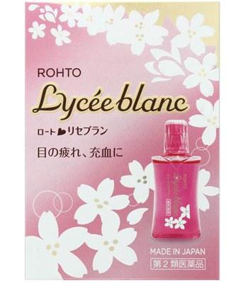 Eye drops - 樂敦 Lycee blanc 櫻花眼藥水-12ml