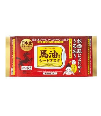 MEISHOKU  - 日本產馬油保濕面膜-32枚入