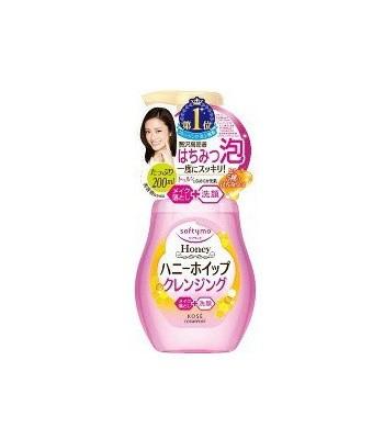 KOSE - HONEY蜂蜜卸妝潔顏幕斯-200ml