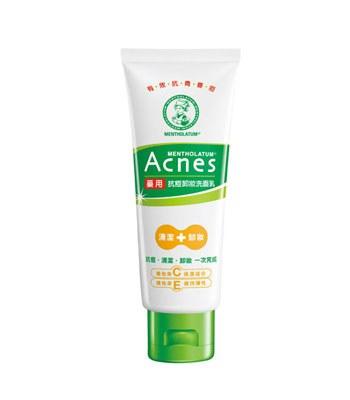 MENTHOLATUM  - Acnes藥用抗痘卸妝洗面乳-100g