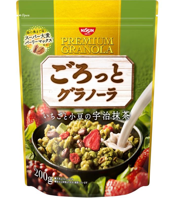 NISSIN - 早餐燕麥片-抹茶味