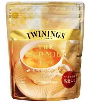Japanese snacks - 片岡TWINING奶茶(袋)-190g
