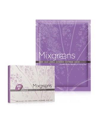 Mixgreens - 積雪草柔潤緊緻面膜-5片
