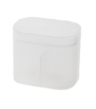 MUJI - PP棉棒盒/附蓋-107x72x91mm